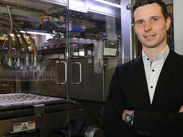 Teamleiter Robin Losacker ist am am Heifeskamp zuständig für die technische Produktion.