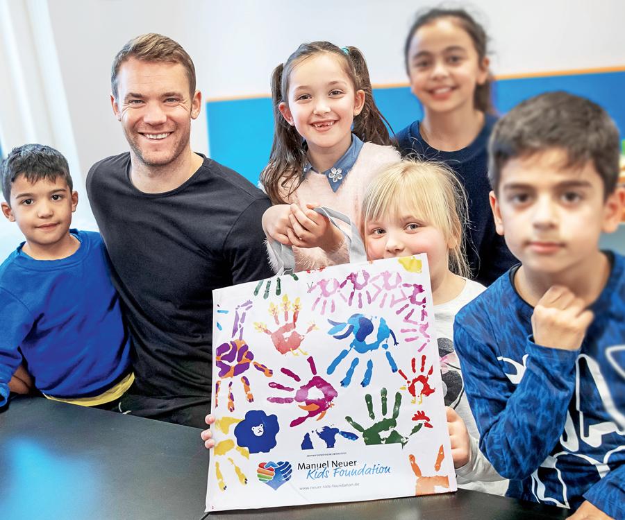 Manuel-Neuer-Kids-Foundation-Mehrwegtasche