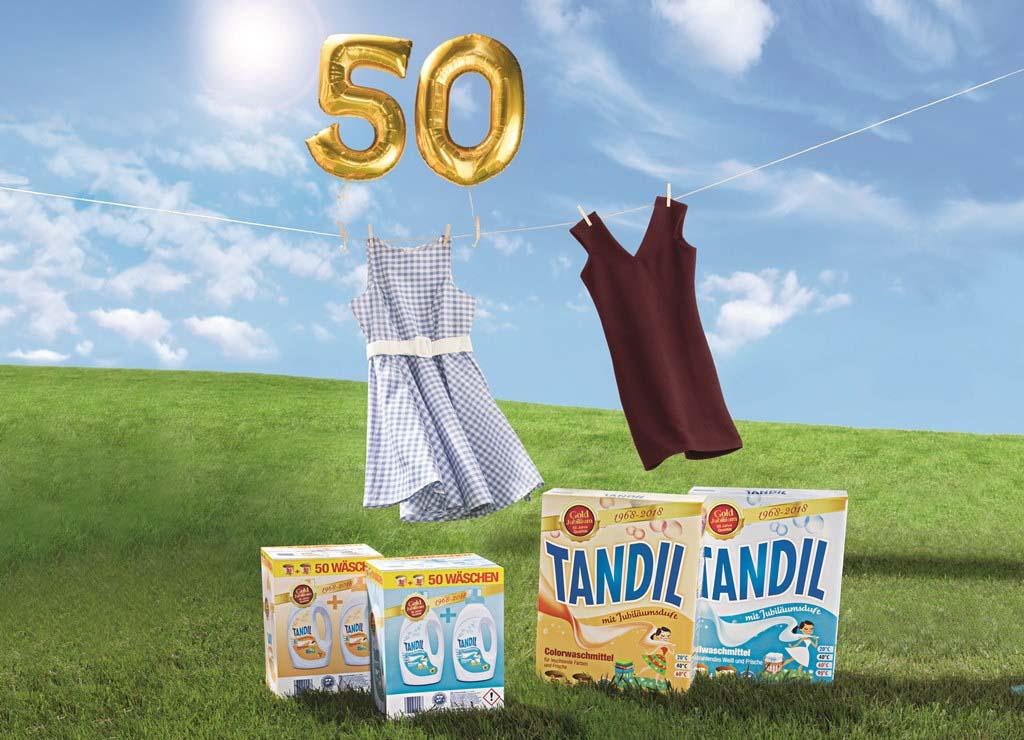 Tandil, Waschmittel, Jubiläum, ALDI, ALDI SÜD