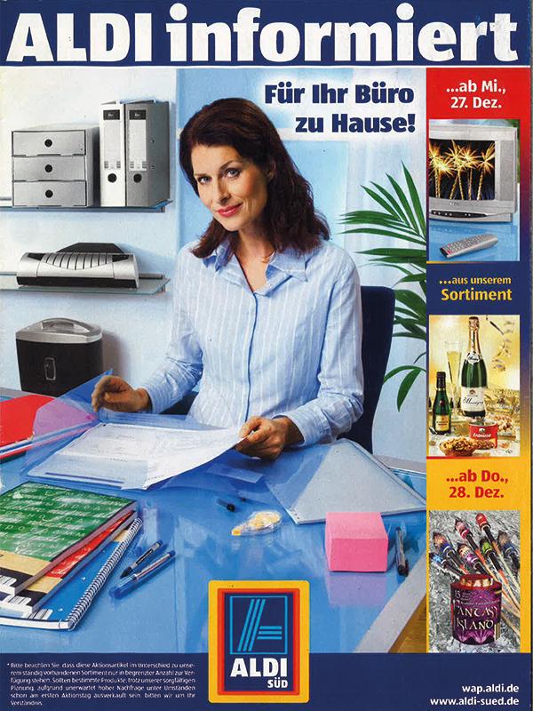 ALDI SÜD bietet an den Werbeterminen Montag und Donnerstag Aktionsartikel an.