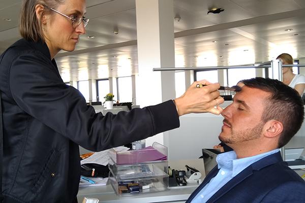 Mitarbeiter von ALDI SÜD sind gleichzeitig auch Werbegesichter der neuen HR-Kampagne.