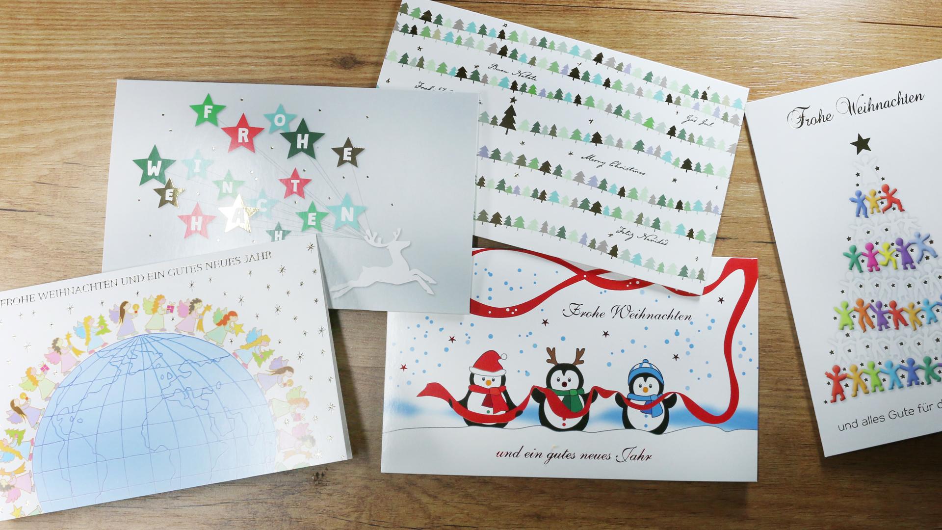 Weihnachtskarten Aldi Süd.Mit Weihnachtskarten Sos Kinderdörfer Unterstützen