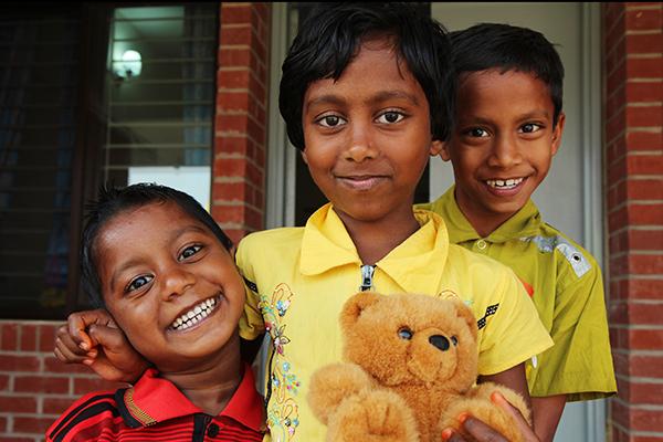 SOS-Kinderdörfer geben Kindern ein neues Zuhause.