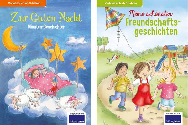 Die Kinderbücher von ALDI SÜD sind ideal zum Vorlesen vor dem Schlafengehen.
