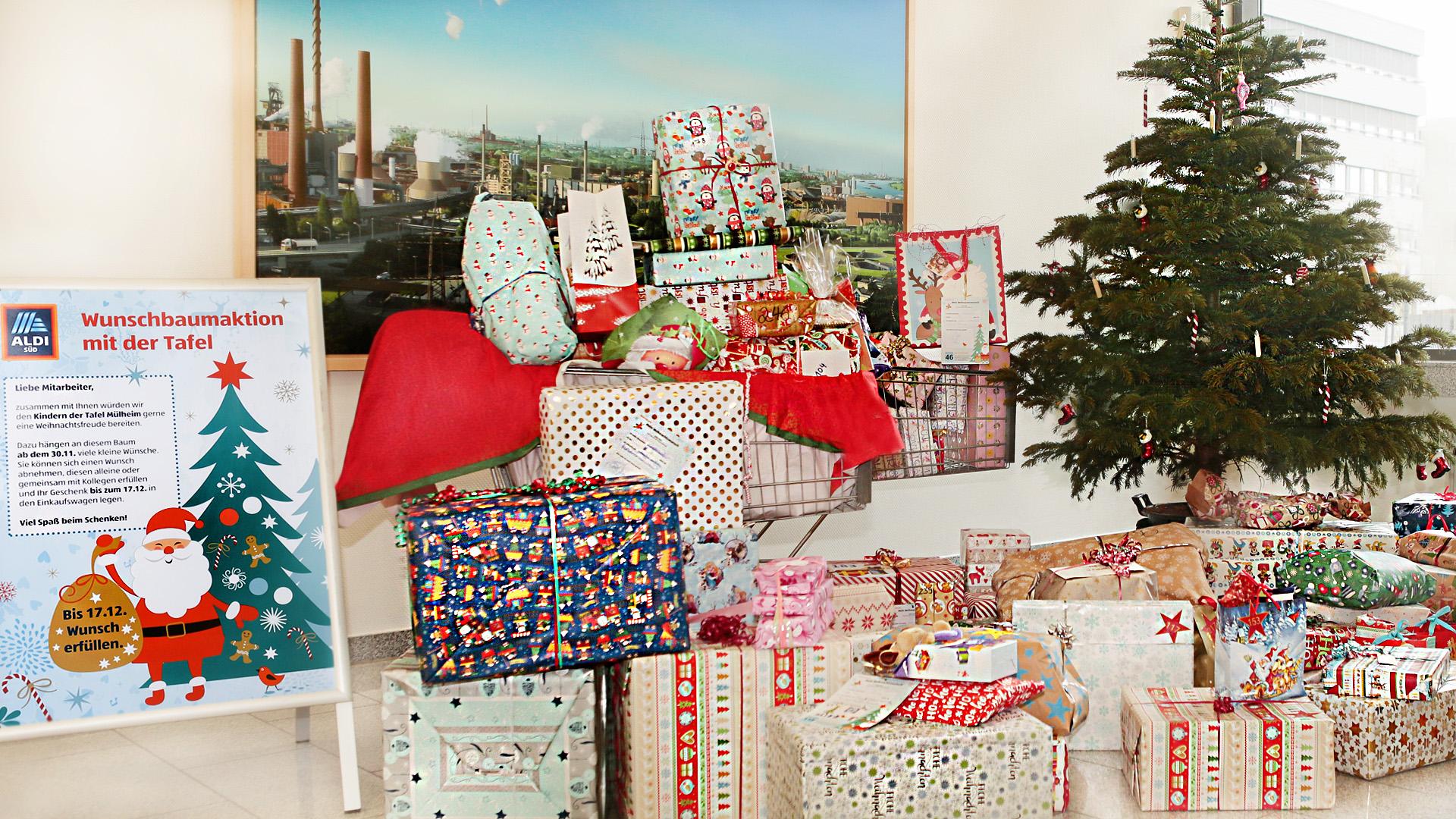 weihnachtsaktion bei aldi s d geschenke f r kinder in not. Black Bedroom Furniture Sets. Home Design Ideas