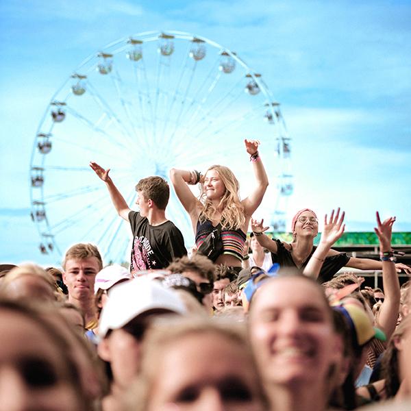 ALDI SÜD ist mit einer Filiale auf dem Southside-Festival