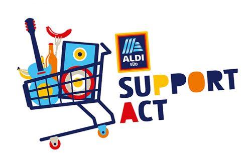 ALDI SÜD ist Support-Act.
