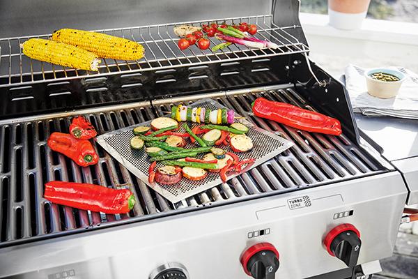 Gemüse auf dem Grill.