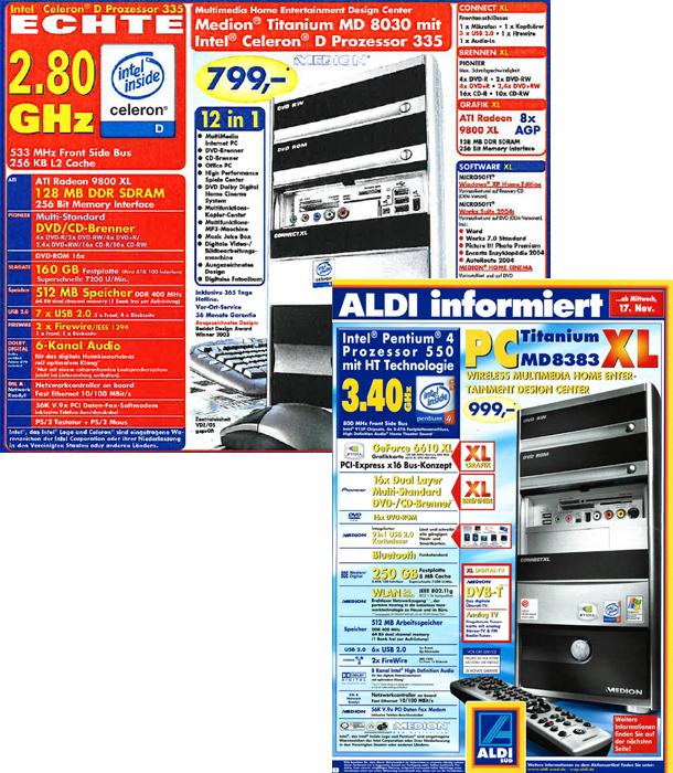 aldi pc 2004 - 2005