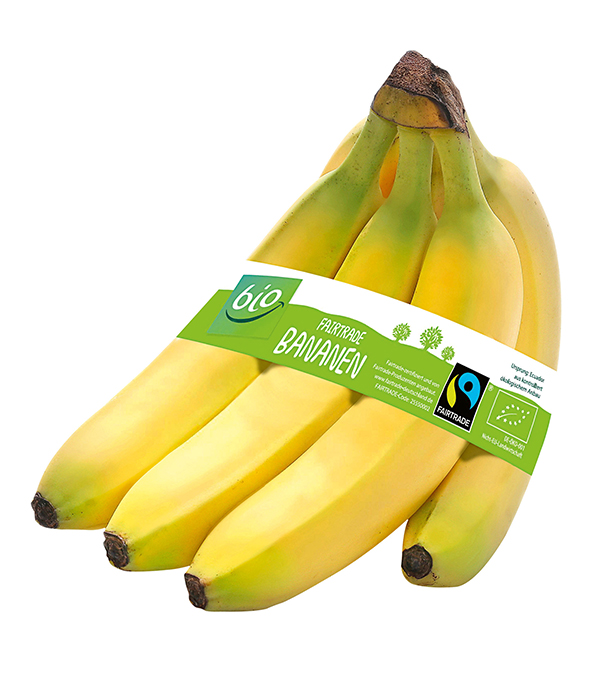 Fairtrade-Bio-Banane bei ALDI SÜD.