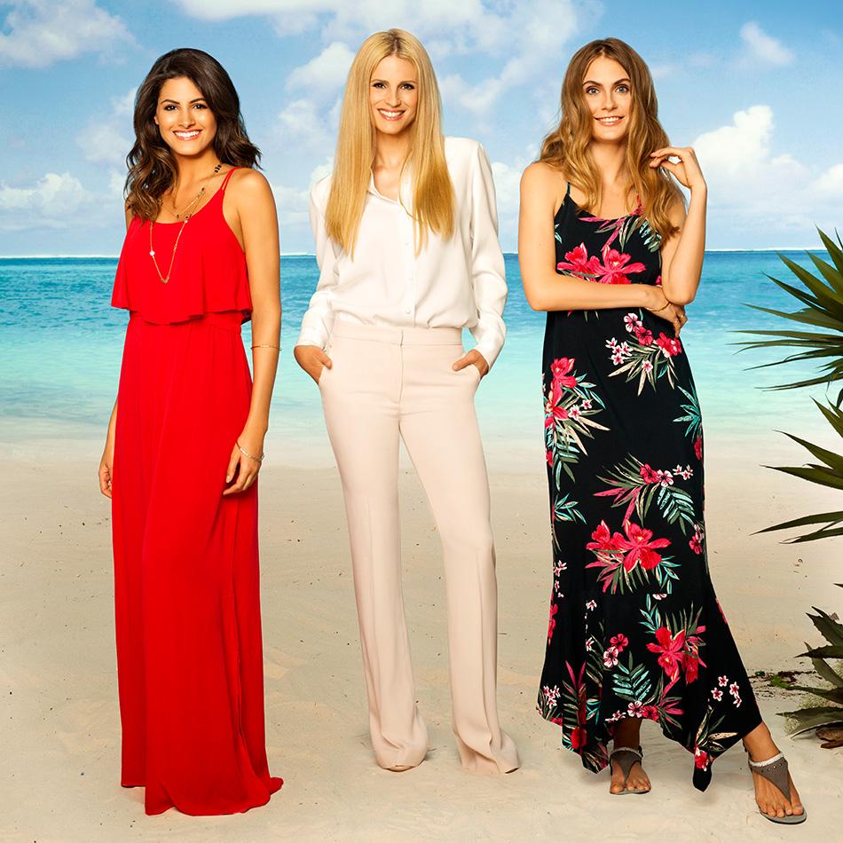 Die Michelle Hunziker Kollektion beinhaltet Sommerkleidung.