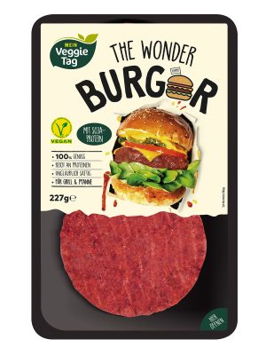Veganer Neuzugang bei ALDI SÜD: The Wonder Burger