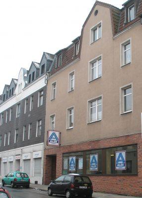 Das Stammhaus von ALDI liegt in Essen-Schonnebeck.