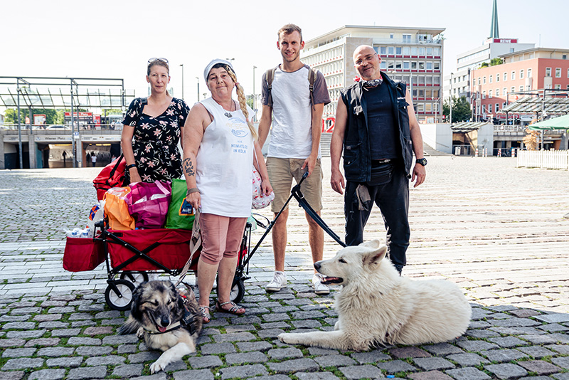 Linda Rennings und ein engagiertes Team kümmern sich in Köln mit dem Verein Heimatlos e.V. um Obdachlose