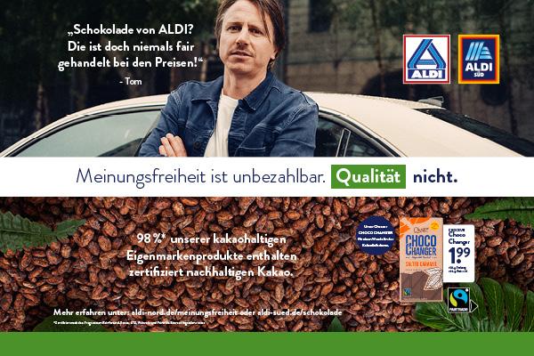 ALDI Qualitätskampagne räumt mit Thesen auf